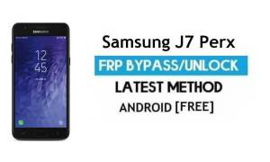 Samsung J7 Perx SM-J727P FRP Bypass – Unlock Google [Android 7.0]