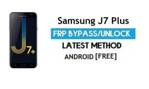 Samsung J7 Plus FRP Bypass – Unlock Google Without PC [Android 7.1]