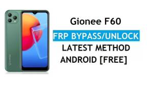 Gionee F60 Android 11 FRP Bypass Unlock Google Gmail lock Without PC
