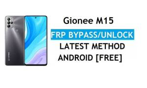 Gionee M15 Android 11 FRP Bypass Unlock Google Gmail lock Without pc