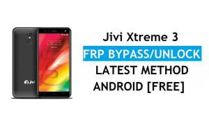 Jivi Xtreme 3 FRP Bypass (Android 8.1) Unlock Gmail Google Account (Without PC)