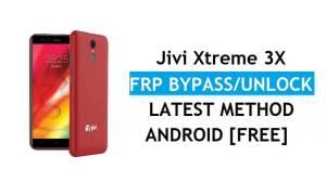 Jivi Xtreme 3X FRP Bypass – Unlock Gmail Lock Android 8.1 Without PC