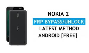 Reset FRP Nokia 2 Bypass Google gmail lock Android 8.1 Without PC/APK