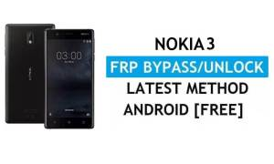 Reset FRP Nokia 3 - Bypass Google Gmail lock Android 9 Without PC/APK