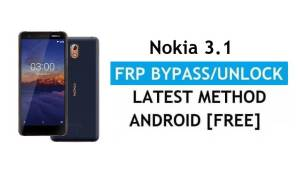 Reset FRP Nokia 3.1 Bypass Google lock Android 10 Without PC/APK free