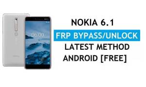 Reset FRP Nokia 6.1 Bypass Google Gmail Android 10 Without PC/APK