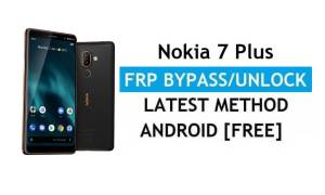 Reset FRP Nokia 7 Plus Bypass Google lock Android 10 Without PC/APK