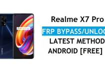 Realme X7 Pro 5G Android 11 FRP Bypass – Unlock Google (Fix FRP Code Not Working) Without PC
