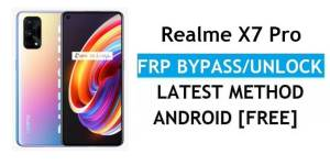 Realme X7 Pro Android 11 FRP Bypass – Unlock Google (Fix FRP Code Not Working) Without PC