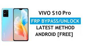 Vivo S10 Pro V2121A Android 11 FRP Bypass Unlock Gmail Without PC