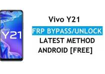 Vivo Y21 Android 11 FRP Bypass – Unlock Google Gmail Verification – Without PC [Latest Free]