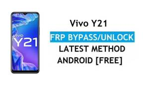 Vivo Y21 Android 11 FRP Bypass Unlock Google Gmail Lock Without PC