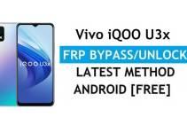 Vivo iQOO U3x Android 11 FRP Bypass – Unlock Google Gmail Verification – Without PC [Latest Free]