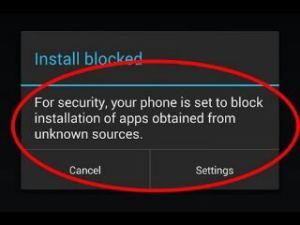 Bypass moto g4 install blocked