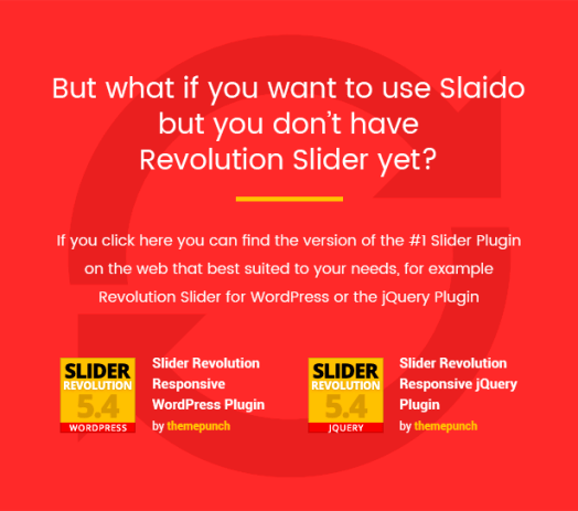 Slaido - Template Pack for Slider Revolution WordPress Plugin - 4