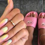 15 Ways To Wear The Coffin Nails Trend Aka Ballerina Nails