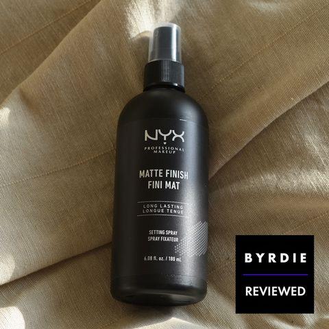 Thanks To Nyx S Matte Setting Spray My