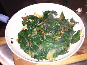 In the Kitchen step 3 - In the Kitchen: Greek Yoghurt Spinach Dip