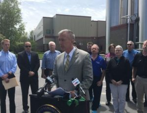 Outside Byrne Dairy Katko slams trade policies hurting CNY businesses image - Outside Byrne Dairy, Katko slams trade policies hurting CNY businesses image