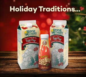 Santa Pack Egg Nog from Byrne Dairy - Santa Pack Egg Nog from Byrne Dairy