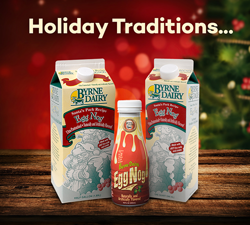 Santa Pack Egg Nog from Byrne Dairy - Egg Nog