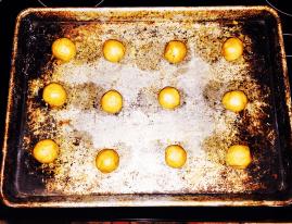 balls of dough - balls of dough