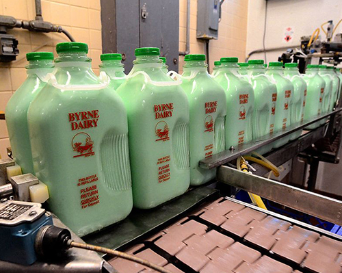 Mint milk from Byrne Dairy: A sure sign of spring, Irish pride in Syracuse.
