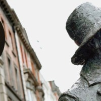 Dublin's Talking Statues: Byrne is James Joyce