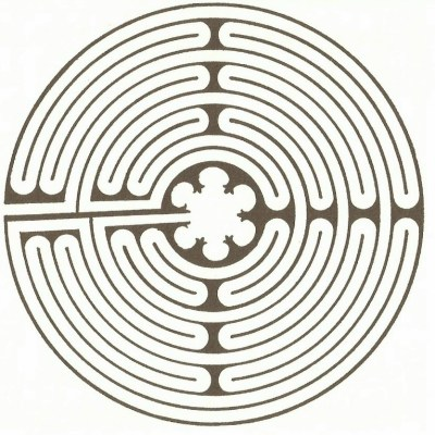 chartres labyrinth pattern