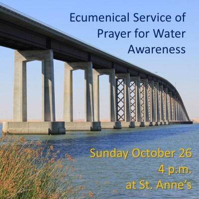 Ecumenical Service of Prayer for Water Awareness