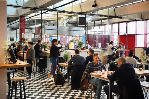 De School Amsterdam restaurant cafe