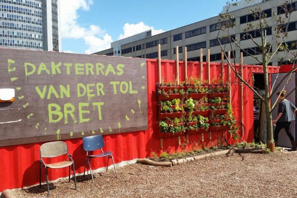 Bret Amsterdam dakterras West