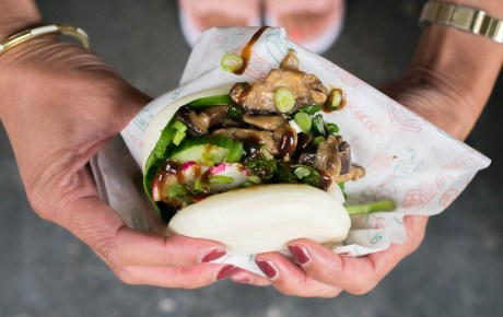 Umami all over met deze smoky hoisin shiitake bun á la David Chang
