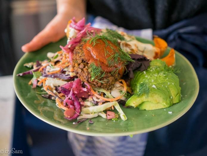 Vegabond De Clercqstraat Amsterdam West gezonde salade