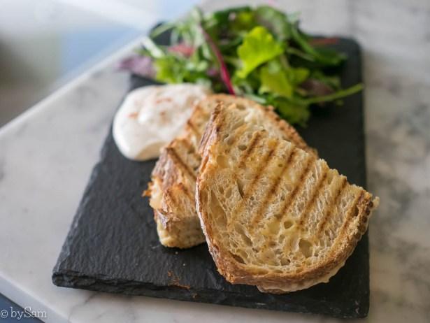 Vegabond De Clercqstraat Amsterdam West kimchi tosti