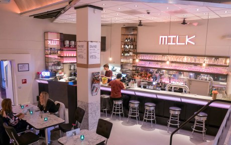 MILK CAFE relaxte all day spot bij het Leidseplein