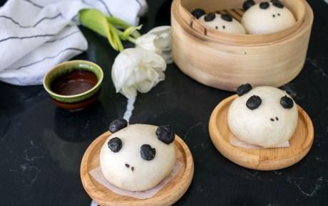 Pandabuns zelf maken. Zo doe je dat