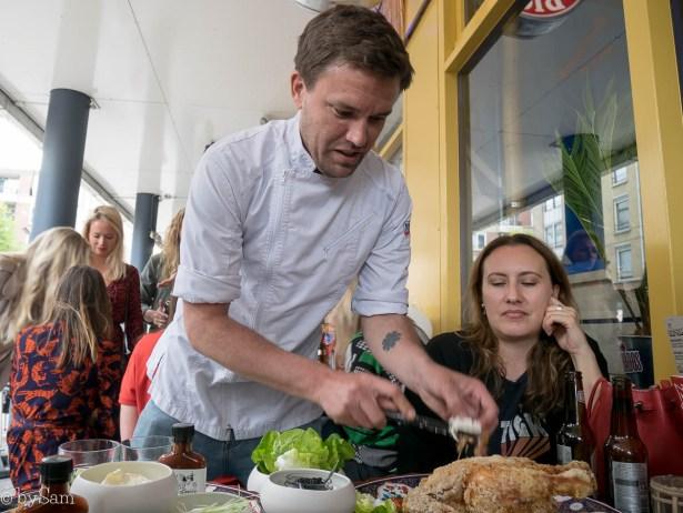 Justin Brown chef Baohuis Amsterdam