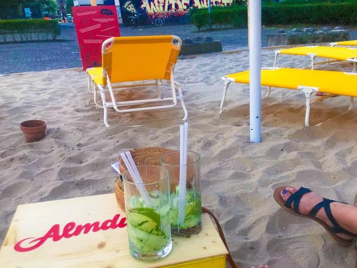 BoLo Beach stadsstrand Amsterdam West Bos en Lommerplantsoen