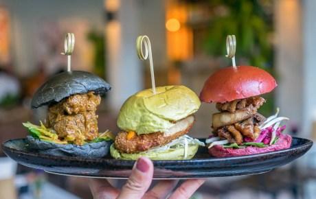 Funky Asian street food bij urban jungle Benji's Toko in Amsterdam West
