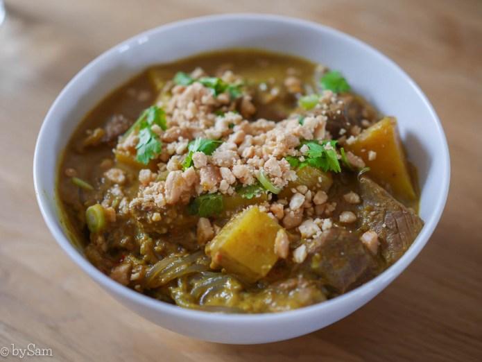 Recept Thaise curry Massaman eten koken