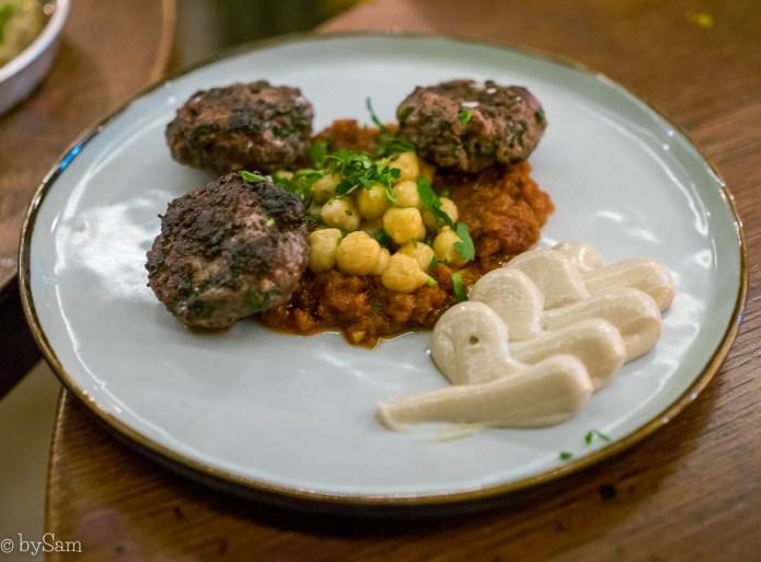 Israelisch eten Bardak restaurant Ferdinand Bolstraat Amsterdam