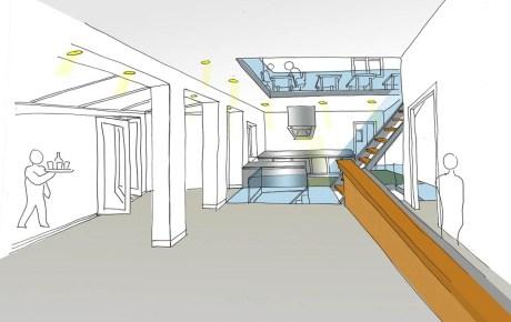 Eigenaren Cafe Cook openen Cafe Goldmund een restaurant met open keuken en serre op de Postjesweg
