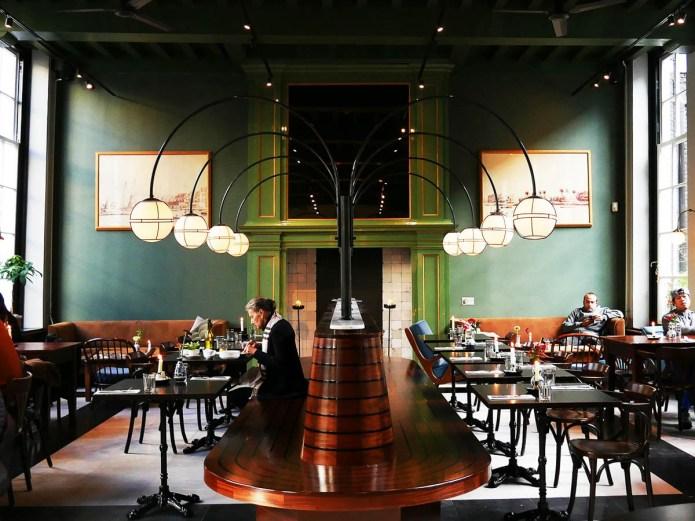 Cafe Nieuw-Amsterdam restaurant Haarlemmerstraat centrum
