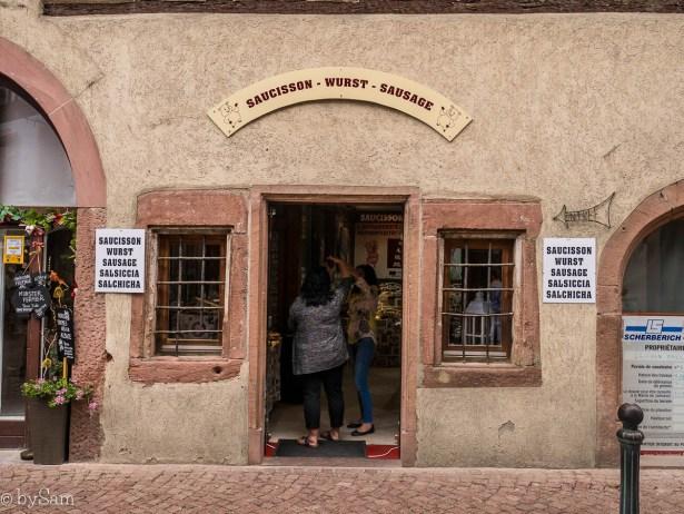 Worstwinkel Kaysersberg Alsace Frankrijk