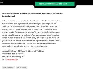 Amsterdam Ramen Festival 2020