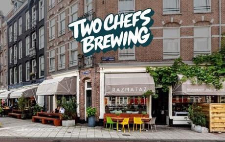 Two Chefs Bar nieuwe bierproeflokaal van Two Chefs Brewing in Amsterdam West
