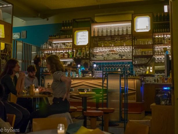 Tapas restaurant bar La Cerveceria Amsterdam Oost
