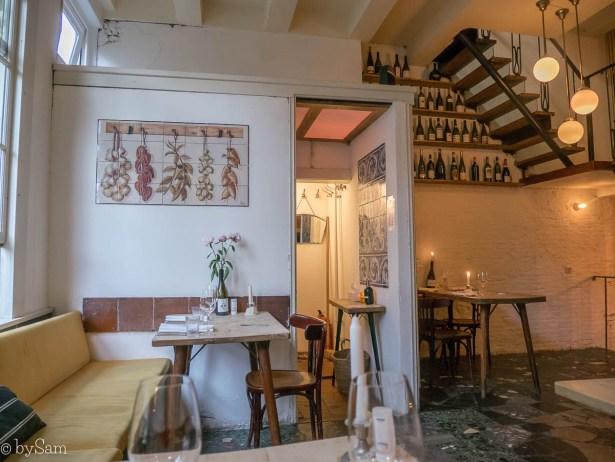 Watergang restaurant Amsterdam Centrum uit eten