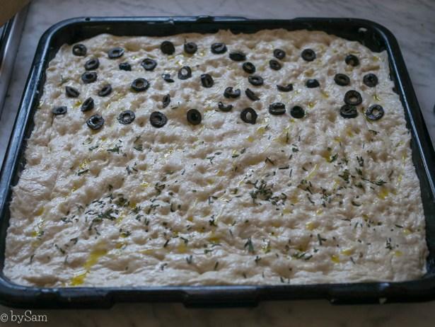 Zelf focaccia maken Italiaans plat brood